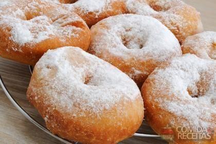 Receita de Donuts caseiro