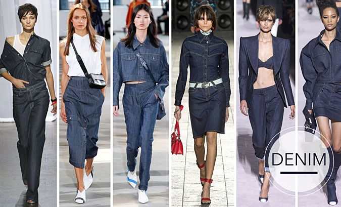 Moda Wiosna Lato 2018 Jeansowe Ubrania Fashion Womens Fashion Trendy