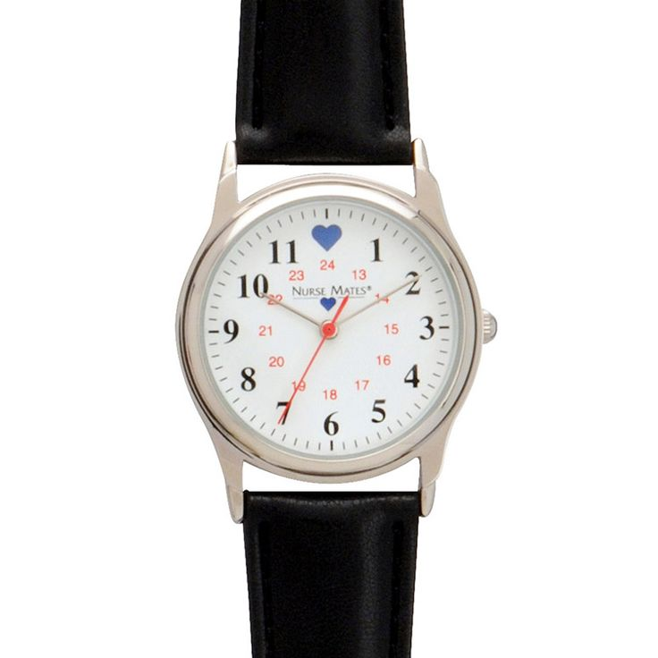 Nurse Mates Women's Chrome Military Watch | allheart.com