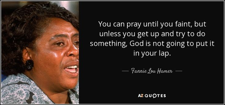 TOP 25 QUOTES BY FANNIE LOU HAMER | A-Z Quotes