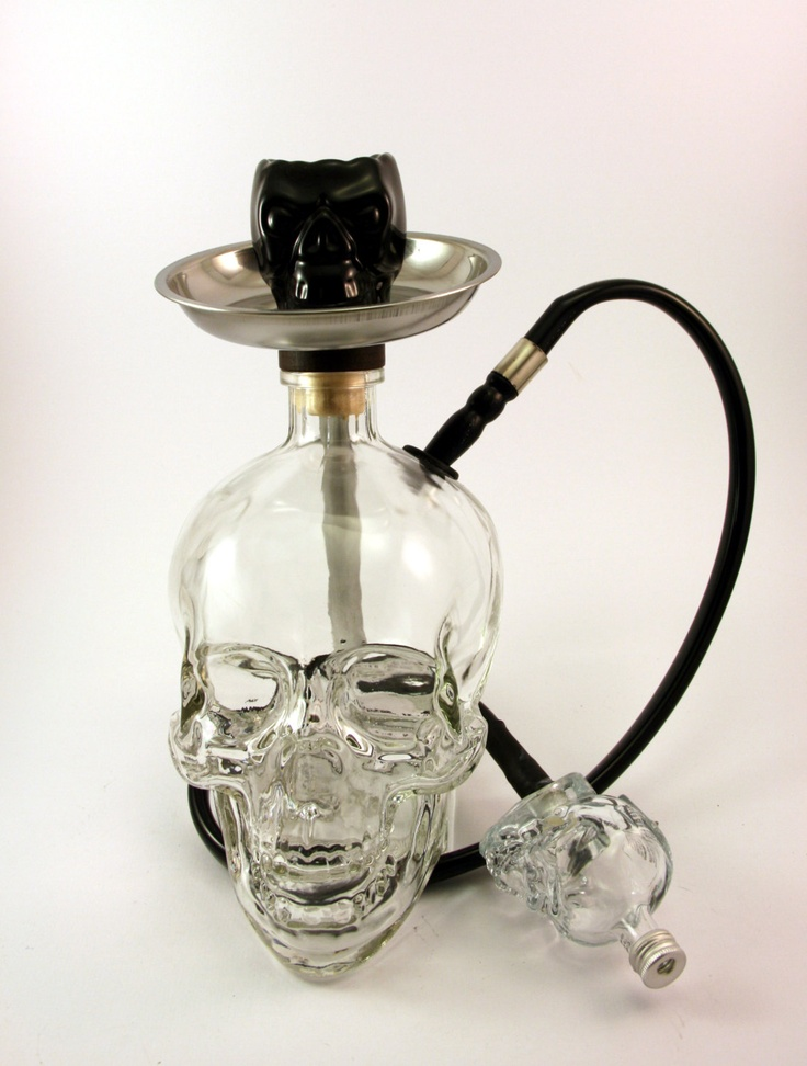 Skull Bowl  for Hookah. $20,00, via Etsy. I'd never buy this but it looks sweet