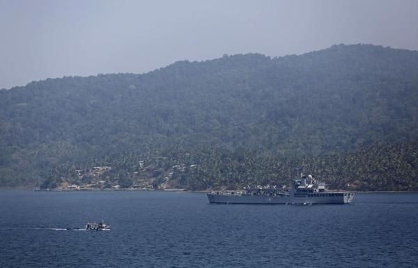Sachaa News   Port Blair [Andaman Nicobar], Dec. 7 : The Indian Navy swung into action as it launched a major rescue operation to evacuat...