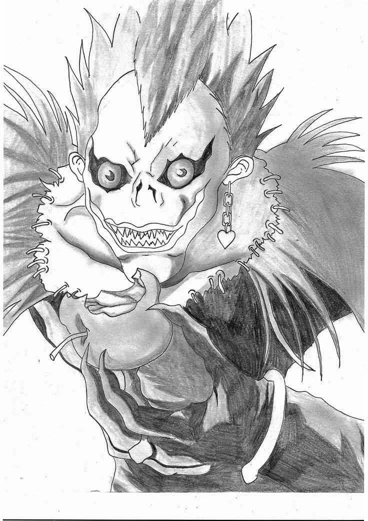 #Manga / #Anime #drawing tutorial : Ryûk deamon