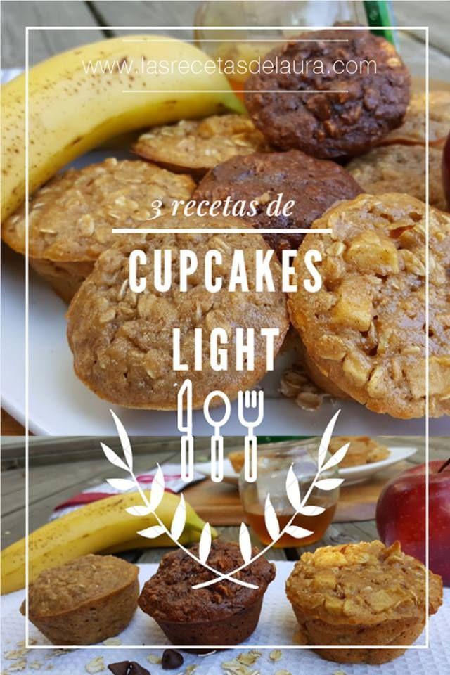 cupcakes saludables - las recetas de laura