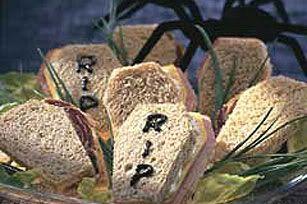 halloween appitizers | Coffin Sandwiches Halloween Appetizer Recipe