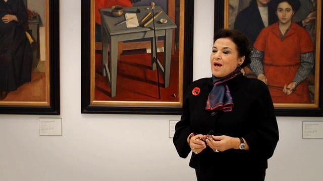 Καθηγήτρια Ιστορίας της Τέχνης-Διευθύντρια της Εθνικής Πινακοθήκης, Μουσείο Αλεξάνδρου Σούτσου