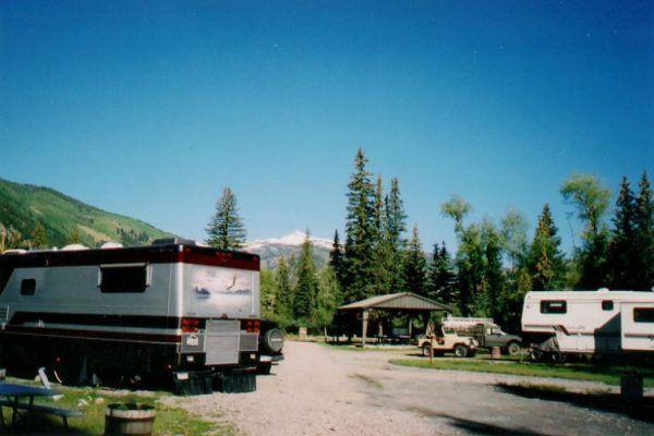 High Altitude Camping At Woodlake Park In Lake City Colorado Camping Colorado Lake City Colorado Outdoor Vacation
