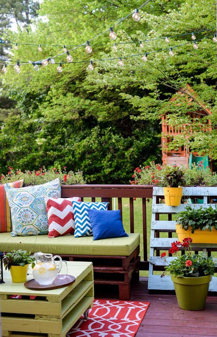 The Best DIY Wood and Pallet Ideas: Reinventa tu terraza - Parafernalia