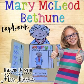 Mary McLeod Bethune  - Women's History Month - Learn all about the life of Mary McLeod Bethune with these fun and engaging activities and comprehension passages.