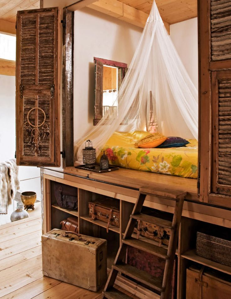 loft boho chic bedroom