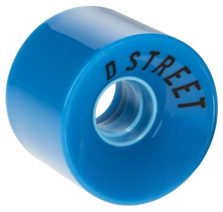 D Street 59 Cent wheels are an essential addition to any cruiser board. The super soft urethane provides a smooth effortless ride over pretty much any terrain. Get some! Center set hub, Set of Four, Will fit any plastic cruiser board.