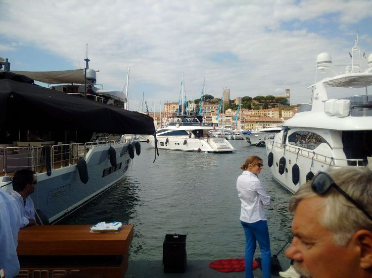 aMER 94' save the sea during sea trials Cannes 2015