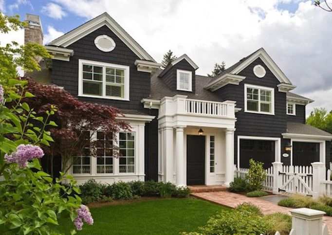 exterior paint colors dark paint white windows and white window trim top 11 modern home exterior designs ideas - Home Exterior Designer