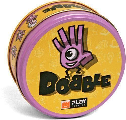 Dobble Társasjáték - magyar kiadás  5 pörgős, szórakoztató gondolkodási és észlelési képességet fejlesztő játék egy dobozban.