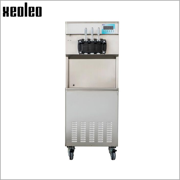 Xeoleo Professional Ice cream maker 3 flavors High quality Ice cream machine with Expanding&Pre-cooling system 28L/H R404
