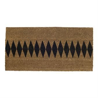 The Lovely Harlequin Doormat From Bloomingville Is Made Of Pure Coir With A  Graphic Harlequin Pattern