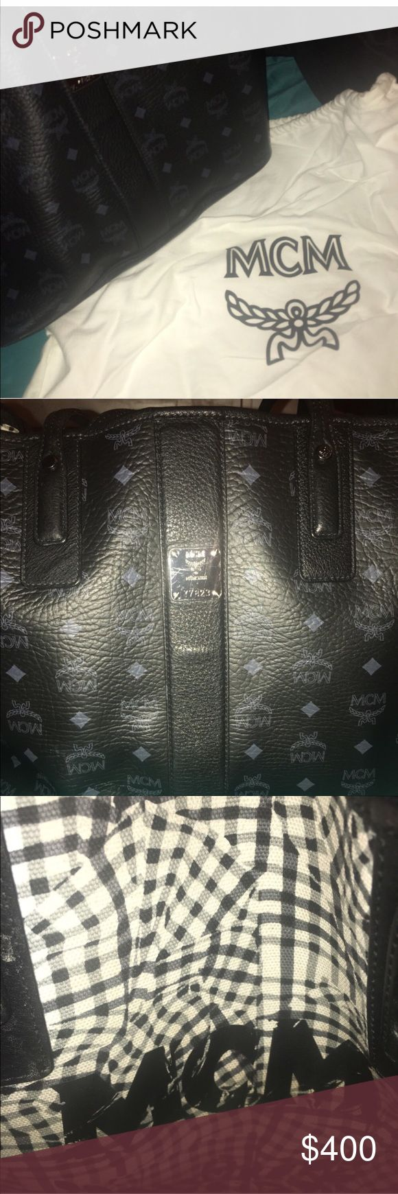 MCM TOTE 100% Authentic PERFECT CHRISTMAS GIFT IN EXCELLENT CONDITION ! got it from Nordstroms a a couple months ago but i dont use it anymore. I already sold the clutch separately! You can bring it to just about any high end store and they can verify its authenticity i dont buy fake stuff! PRICE NEGOTIABLE TRYING TO GET RID OF ASAP No rediculous offers i paid 695$ will take 300 through pp MCM Bags Totes