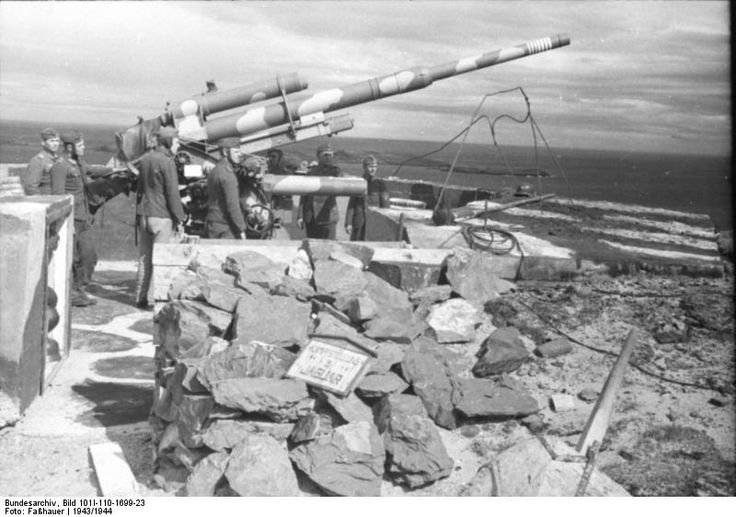 Image result for the atlantic wall 88mm flak gun