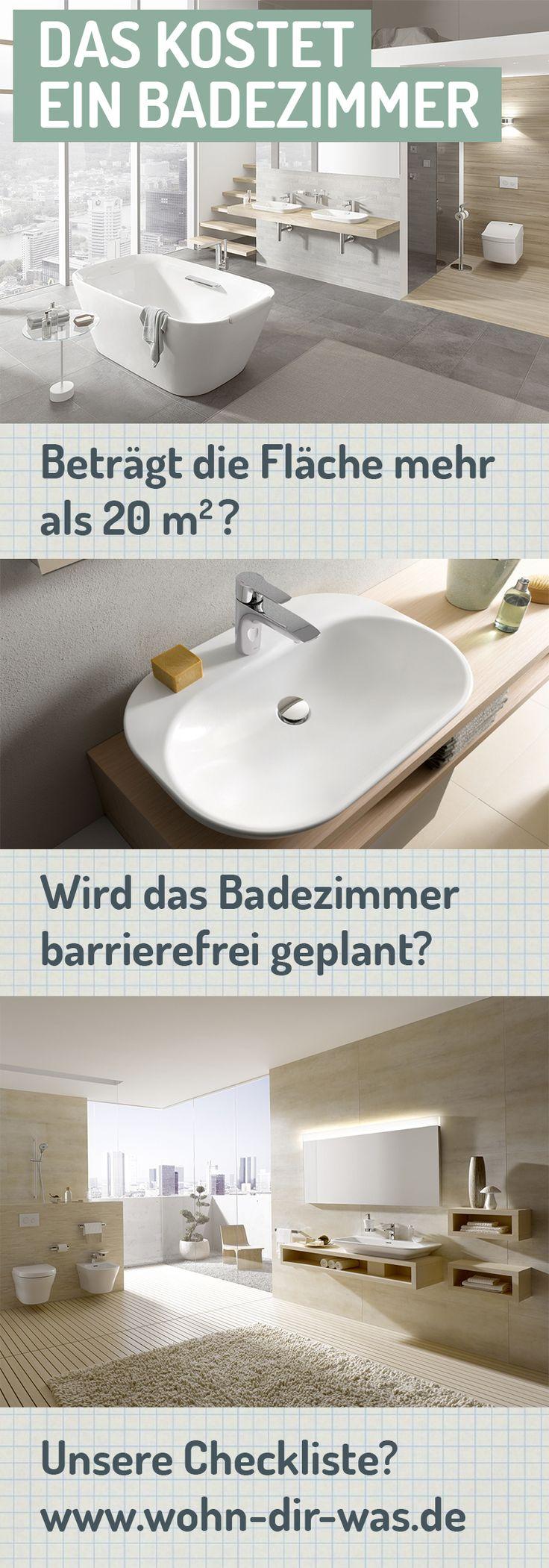 Was kostet ein schickes neues Bad? Nicht einfach zu sagen!  www.wohn-dir-was.de hilft, sich eine Vorstellung über die Kosten  zu machen. Bildmaterial: TOTO