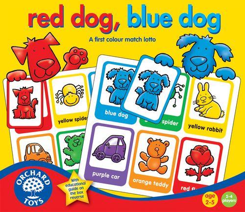 [PnP] ORCHARD TOYS Red Dog, Blue Dog 2+
