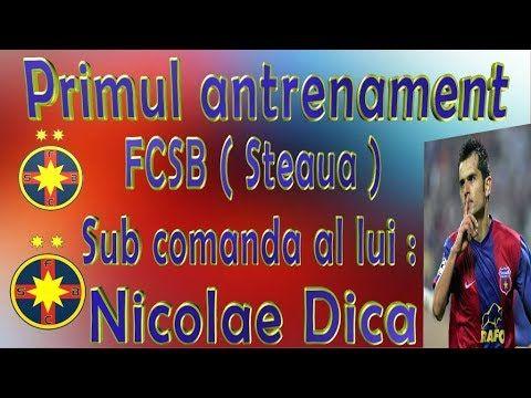 Primul antrenament FCSB( Steaua ) sub comanda lui Nicolae Dica