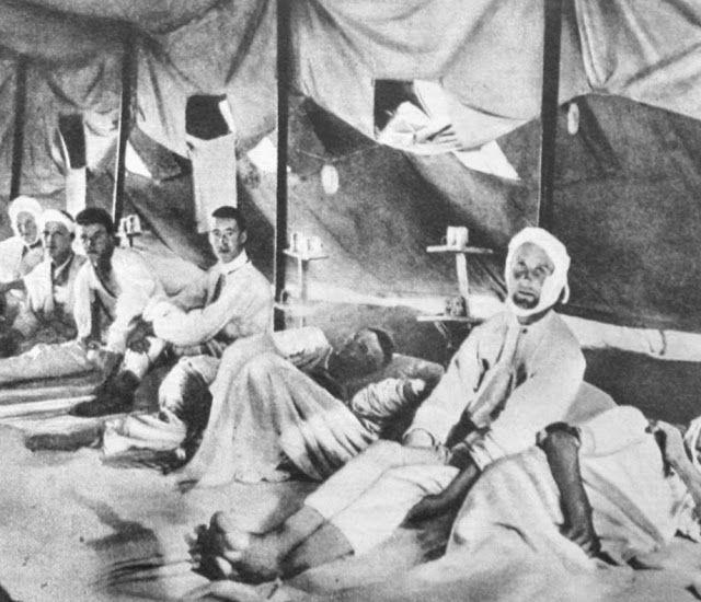 1915 Arıburnu Çanakkale.