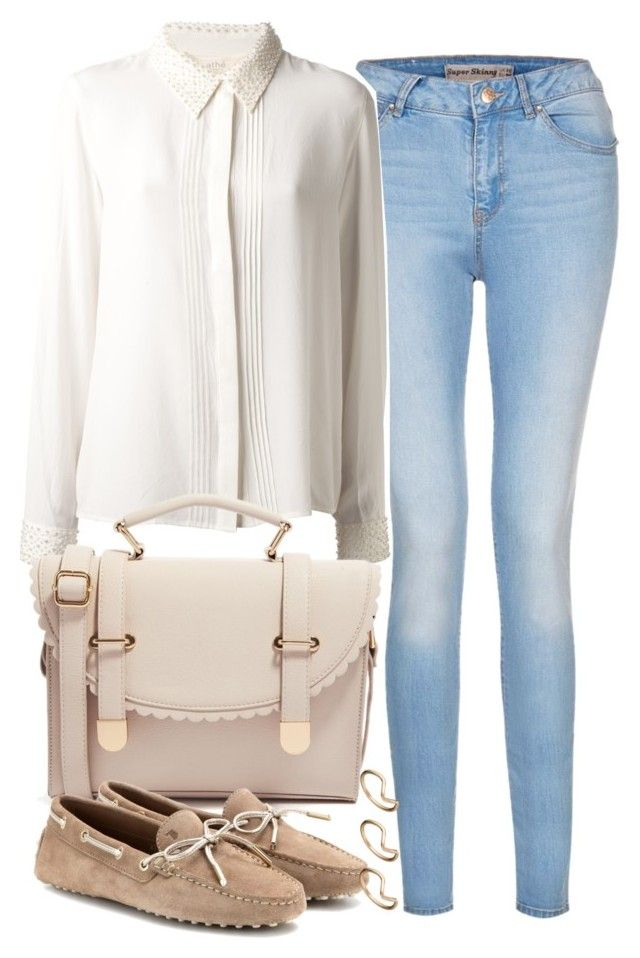 """Untitled #420"" by plainly-marie ❤ liked on Polyvore featuring Vanessa Bruno Athé, ASOS and Tod's"