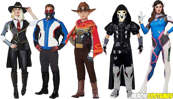 Overwatch Costumes Halloween 2020 Overwatch Costumes | Cool halloween costumes, Overwatch costume