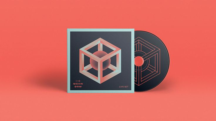 Identity, logo, packaging, posters for I LOVE MCHN DRM (I Love Machine Drum), a Norwegian indie house / electronic duo from Norway.