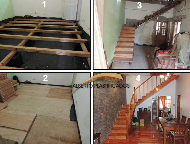 hacer carpeta capa antihumedad colocacin de tirantera para montar el piso de madera