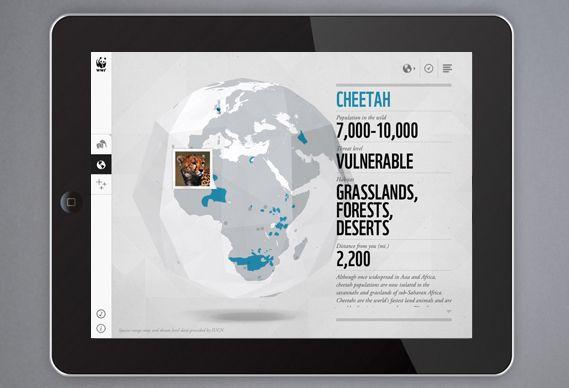 Creative Review - WWF's new iPad app