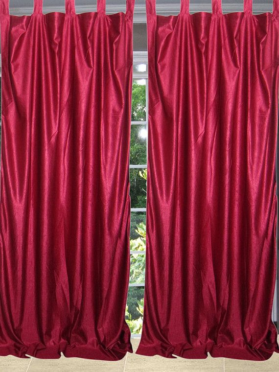 63 best Silk Sari Curtains images on Pinterest Draping Window