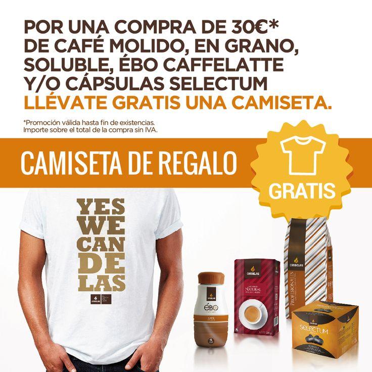 Camiseta Yes We Candelas para compras superiores a 30€