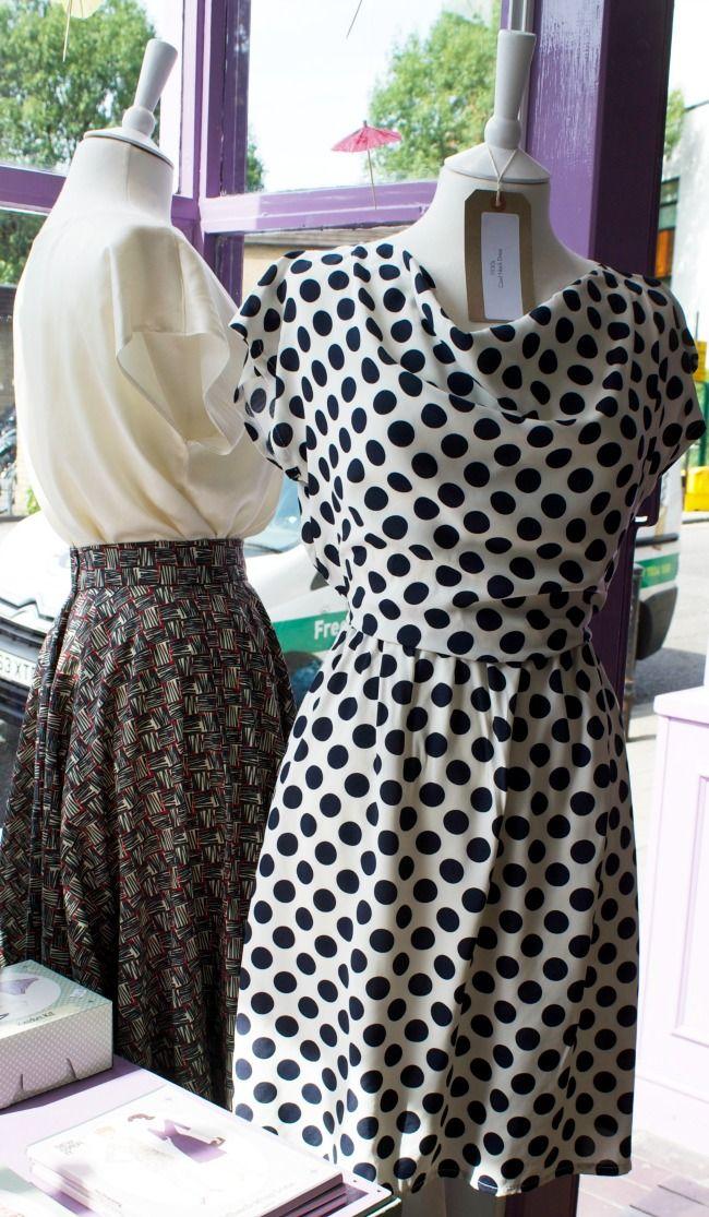 Sew Over It Vintage 1930s Cowl-Neck Dress