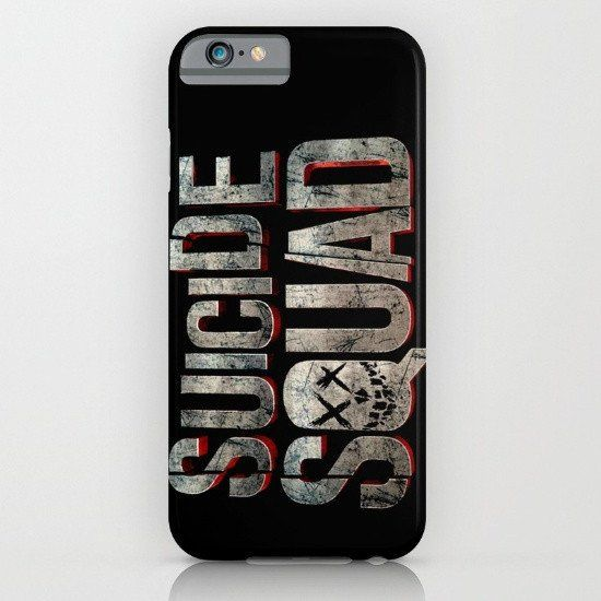 Suicide Squad Logo iphone case, google Pixel case