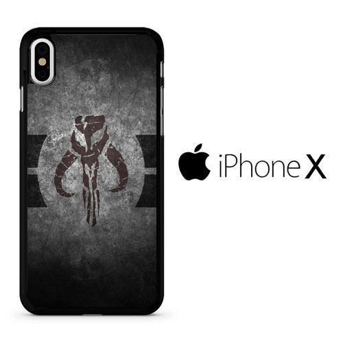 best website f7f6a 9ff0d Star Wars Boba Fett Crest iPhone X Case | Arpho iPhone X