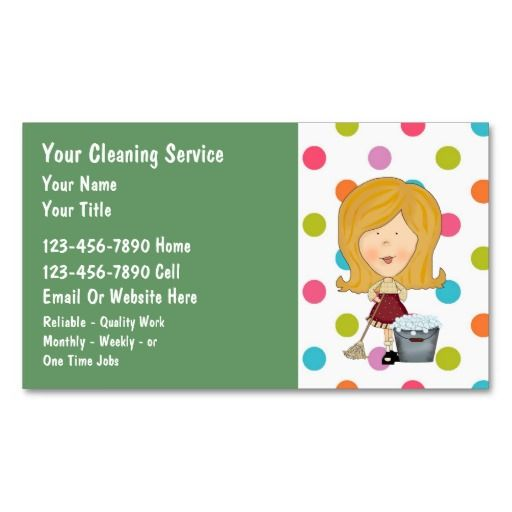 273 Best Cleaning Business Cards Images On Pinterest Cleaning