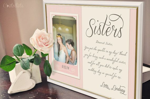 Hey, I found this really awesome Etsy listing at https://www.etsy.com/listing/197723518/sister-gift-bridesmaid-gift-sisters
