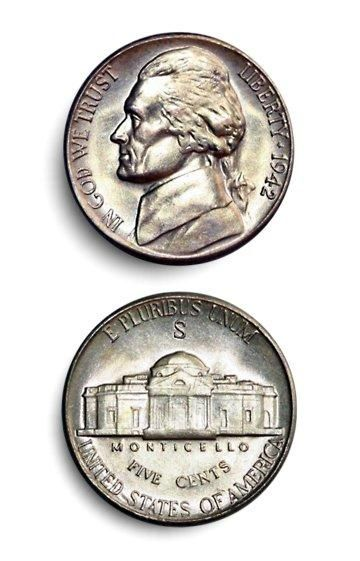 Silver Jefferson Nickel Value Chart Coins Worth Money
