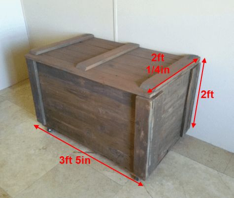 1000 ideas about pallet toy boxes on pinterest toy for Toy pallets