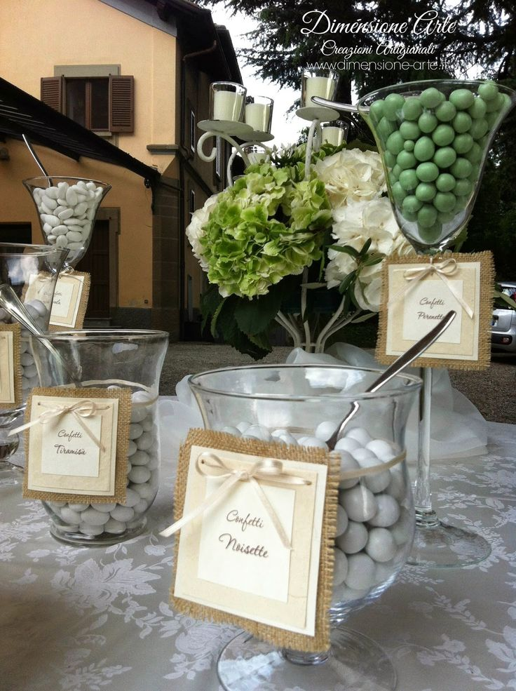 Confettata Matrimonio Rustico : Creazioni artigianali dimensione arte linea