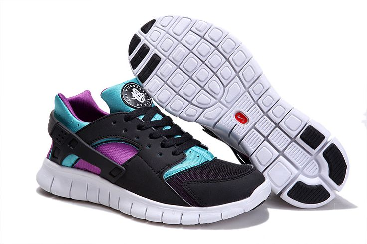 promo code 3222e 54c1c ... Black Black Turquoise Blue Magenta Nike Huarache Free Run Mens Shoes  New Products cheap sale Pinterest nike huarache free 2012 ...