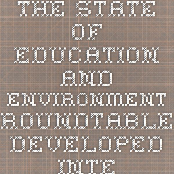 The State of Education and Environment Roundtable developed interest in implementing environement based education programs to improve students learning.  This study showed that including environmental program into curricula demonstrated improvement of childrens academic performance, behaviour, attendance and attitudes.  (