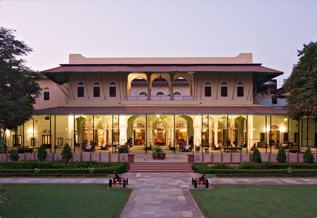 This grand structure of #CastleKanota Nr. #Jaipur #Rajasthan speaks volumes of the heritage of ancient time! A perfect #RareIndia #DelhiGetaway!   #Explore More: http://bit.ly/1mFO4BT