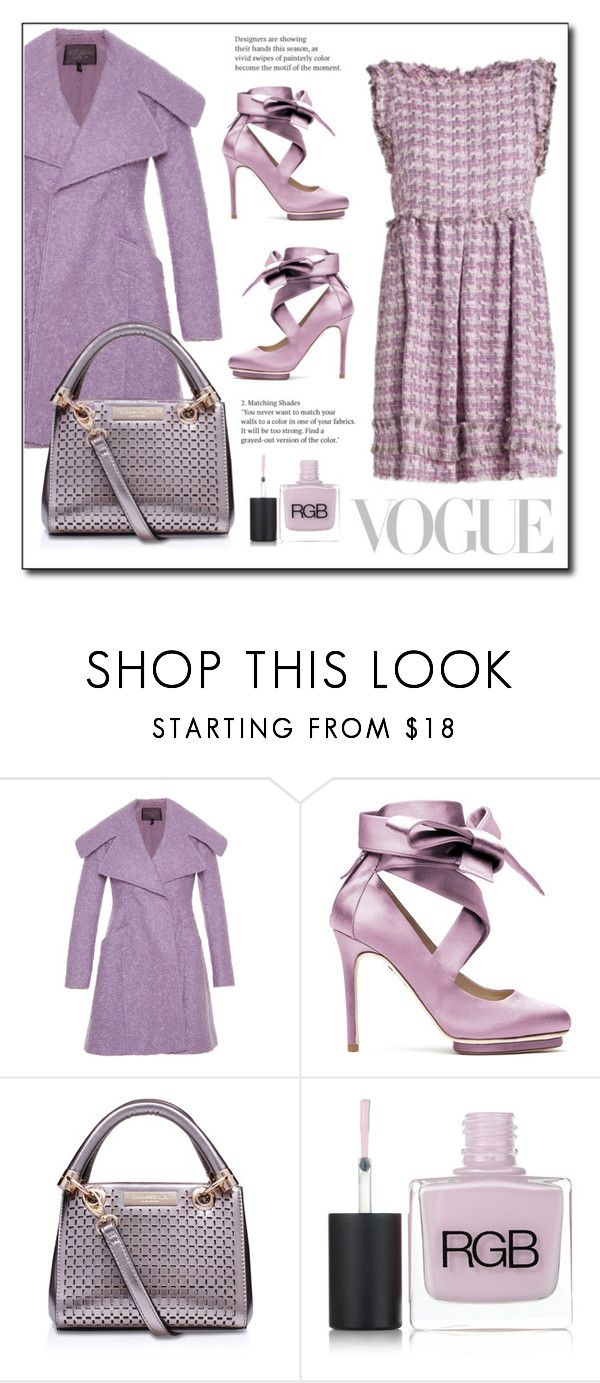 """""""Pastel"""" by gracecar3 on Polyvore featuring Oscar de la Renta, Liam Fahy, House of Fraser and RGB Cosmetics"""