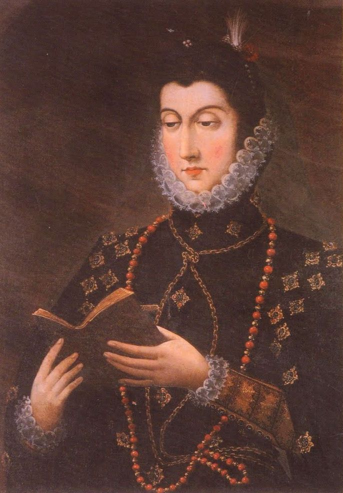 Doña Magdalena de Ulloa teaches noble charity to Don John of Austria - Nobility and Analogous Traditional Elites