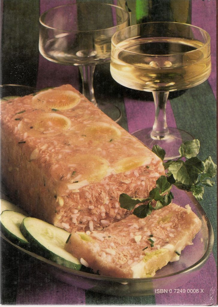 Salmon And Rice Loaf. Serve with plenty of wine. The more, the better.