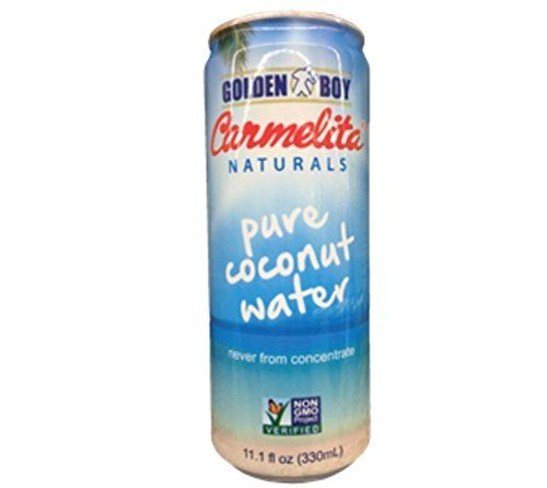 Golden Boy Carmelita Naturals 100% Pure Coconut Water, 11.1 fl. oz. >>> You can find more details by visiting the image link.