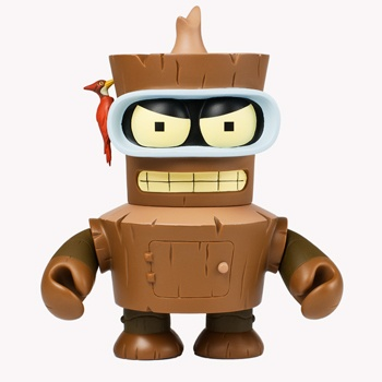 FUTURAMA WOODEN BENDER