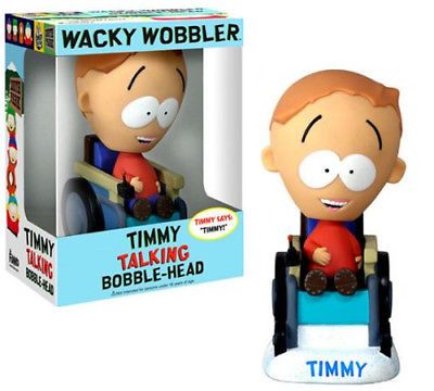 South Park 20918: New South Park Talking Timmy Bobblehead Wacky Wobbler Figure Funko Oop Rare -> BUY IT NOW ONLY: $64.95 on eBay!